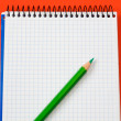 Pencil and notebook — Stock Photo #9440708