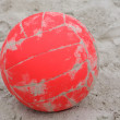 A red ball boleibol — Stock Photo