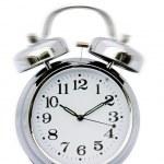 hodiny zvonění — Stock fotografie