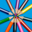 Color pencils — Stock Photo #9441148