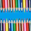 Pencils of many colors — Stock Photo