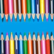 Pencils of many colors — Stock Photo #9441149