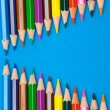 Color pencils — Stock Photo #9441159