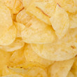 A pile of potato chips - Stok fotoraf