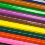 Row of wooden pencils — Stock Photo