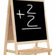 Learning to add numbers - Stock Photo