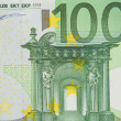 Royalty-Free Stock Photo: One bill of one hundred euros