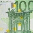 One bill of one hundred euros — Stock Photo #9441640