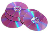Photo of scattered CD — Stock Photo