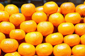 Oranges piled up — Stock Photo
