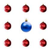 Many balls of christmas — Stock Photo