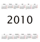 Calendario 2008 — Foto de Stock