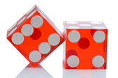 Dices of the casino — Stock Photo