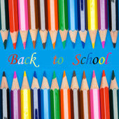 Photo of the concept of returning to school — Stock Photo