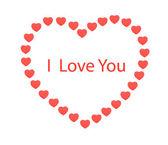 Day of Saint Valentine. Congratulations — Stock Photo
