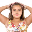 Adorable girl scared — Stock Photo #9497153