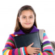 Adorable student girl — Stock Photo #9497254
