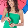 Attractive woman whit umbrella — Stock Photo #9498913