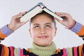 Meisje studeren — Stockfoto