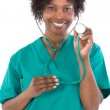 African american woman doctor — Stock Photo #9503642