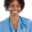 African american woman doctor — Stock Photo #9503646