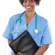 African american woman doctor — Stock Photo #9503652
