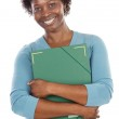 African-American university student — Stock Photo #9503661