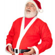 Santa Claus with a laugh — Stock Photo