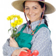 Gardener woman — Stock Photo #9507504