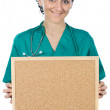 Attractive lady doctor — Stock Photo #9507561