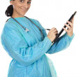 Attractive lady doctor — Stock Photo #9507665