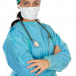 Attractive lady doctor — Stock Photo #9507680