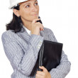 Elegant business woman — Stock Photo