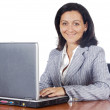 Woman with laptop — Stock Photo #9507911