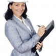 Attractive young engineer — Stock Photo #9507917