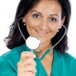 Attractive lady doctor — Stock Photo #9508050