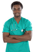 Attractive young doctor — Stockfoto