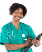 African american woman doctor — Stock Photo