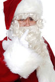 Santa Claus advise — Stock Photo