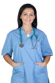 Happy doctor woman — Stock Photo