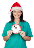 Five minutes for a New Year! — Foto de Stock
