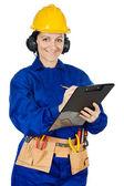 女建筑工人 — 图库照片