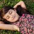 Girl relaxed — Stock Photo #9625085
