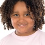 Adorable african girl — Stock Photo