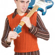 Attractive musical young person — Stock Photo #9625745