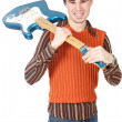 Attractive musical young person — Stock Photo #9625750