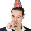 Stock Photo: Executive in a celebration