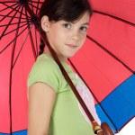 Girl whit umbrella — Stock Photo #9625978