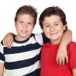 Two funny children — Stock Photo #9626333