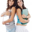 Two attractive students - Foto de Stock